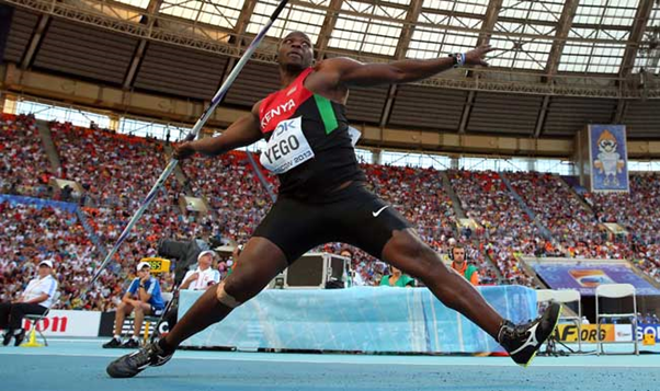 Javelin Star Julius Yegon